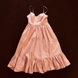J.Crew Floaty Striped Cotton Dress -so feminine!